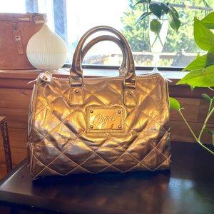 Beautiful Golden Victoria's Secret Bag